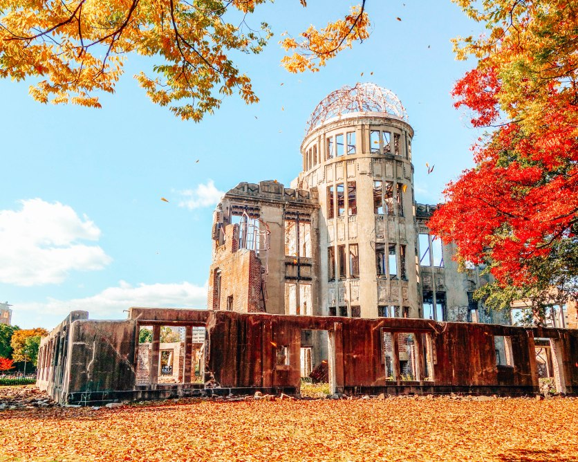 Hiroshima A dome Japan