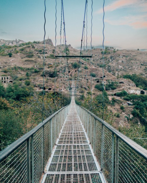 Khndzoresk suspension bridge Armenia