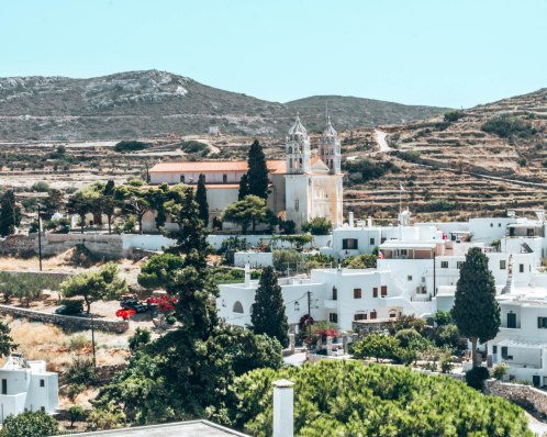 Lefkes Paros Greece
