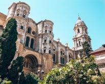 Malaga cathedral Spain