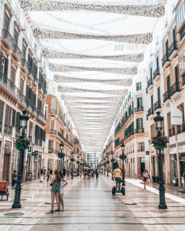 Malaga streets Spain
