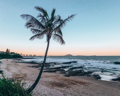 Maloolooba beach Sunshine Coast Australia