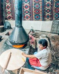 Megerian carpet company bread oven