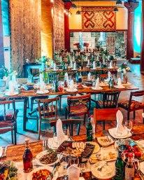 Megerian carpet company wedding reception