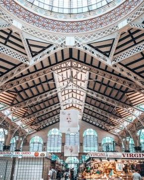 Mercado centrale Valencia Spain