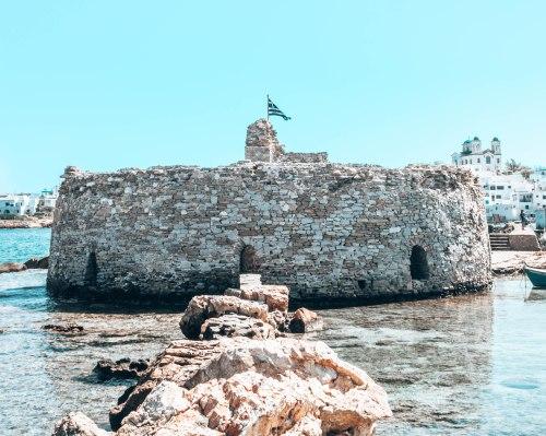 Paros Venecian castle Greece