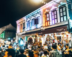 Phuket old town night market Thailand