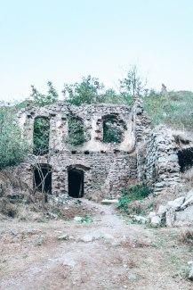 Ruins Khndzoresk Armenia