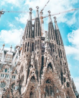 Sagrada familia Barcelon Spain