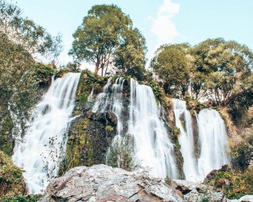 Shaki waterfall Armenia