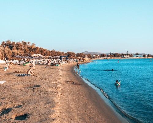 St-George beach Naxos Greece