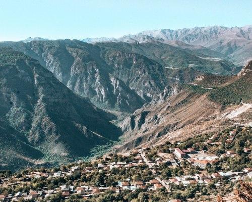 Tatev gorge Armenia