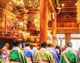 Temple Osaka Japan