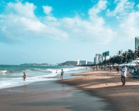 Tran Phu Beach Nha Trang Vietnam