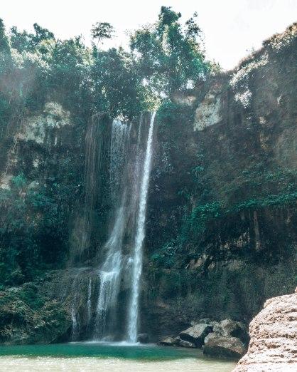 Waterfall Bohol Philippines