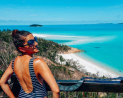 Wediditourway Carine at Whitehaven beach Australia