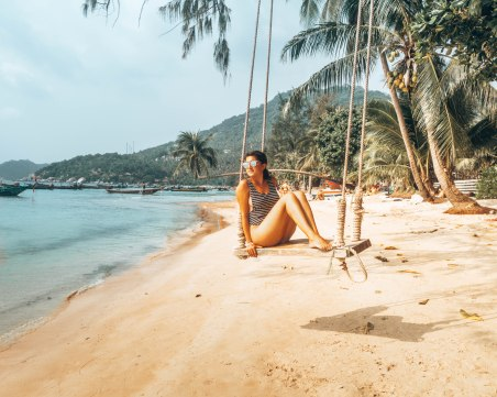 Wediditourway Carine sairee beach Koh Tao Thailand