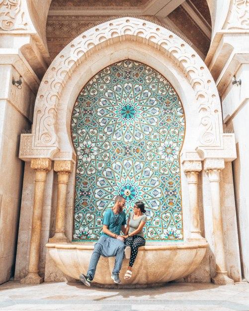 Wediditourway Hassan II mosque Casablanca Morocco