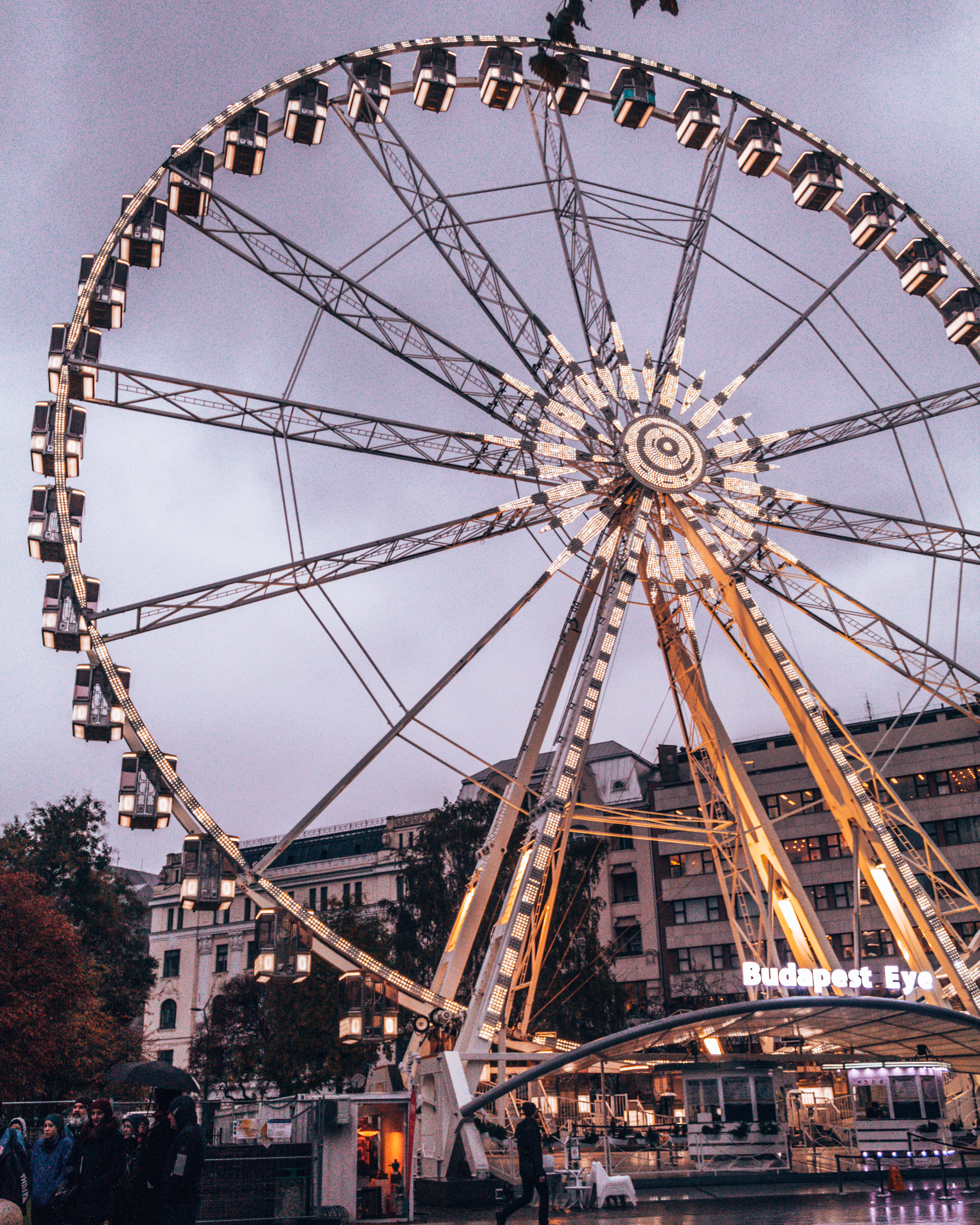 Come ride the Budapest Eye Ferris Wheel in Budapest, Hungary