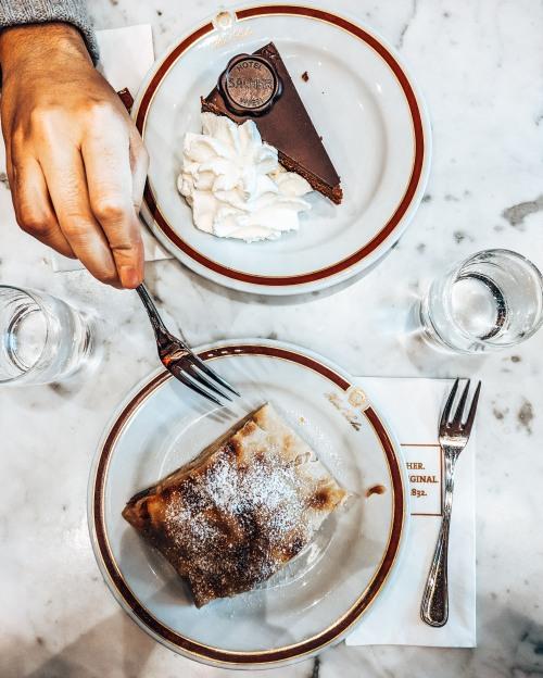 Cafe Sachel Original Torte Vienna Austria