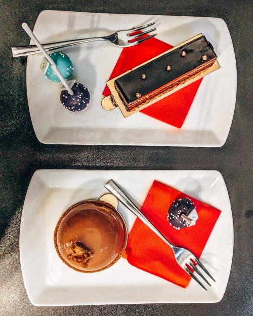 Grab a yummy dessert at Desszert Neked in Budapest, Hungary