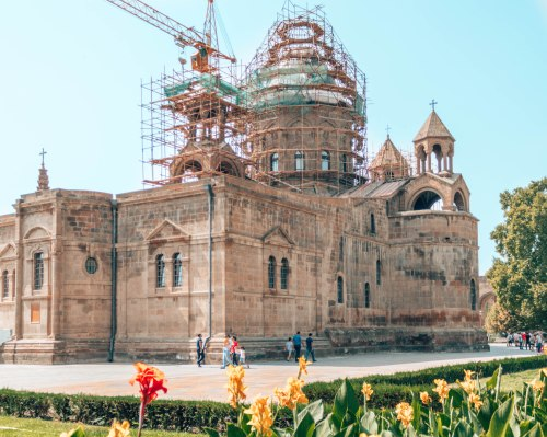 Etchmiadzin Cathedral Armenia