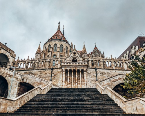 The Fisherman's Bastion in Budapest, Hungary