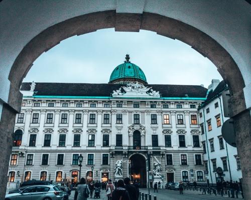 Hofburg palace Vienna Austria