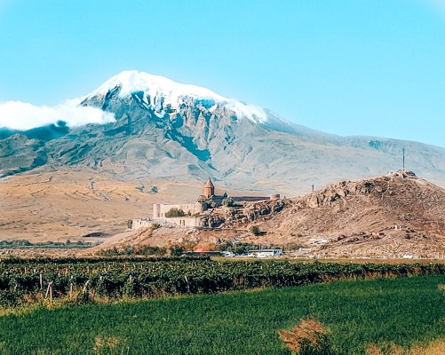 Khor Virap Mount Ararat Armenia