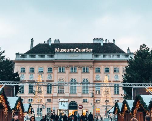Museum quarter Vienna Austria