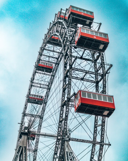 Prater ferris wheel Vienna Austria