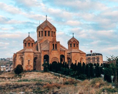 St Grigor Lusavorich cathedral Yerevan Armenia