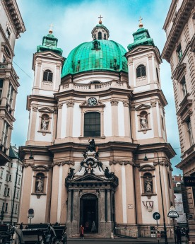 St Peter's Church outside Vienna Austria