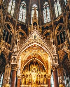 Vortishkirche altar Vienna Austria