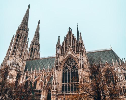Vortishkirche outside Vienna Austria