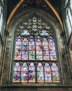 Vortishkirche stained glass window Vienna Austria.CR2