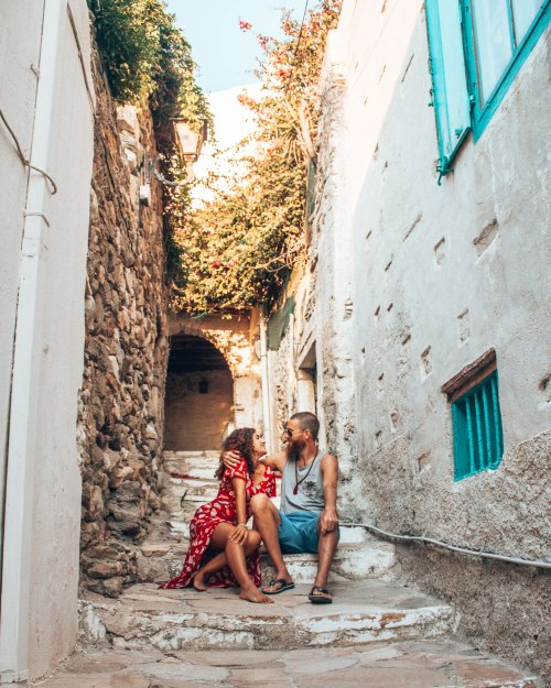 Wediditourway Old town Naxoes Greece