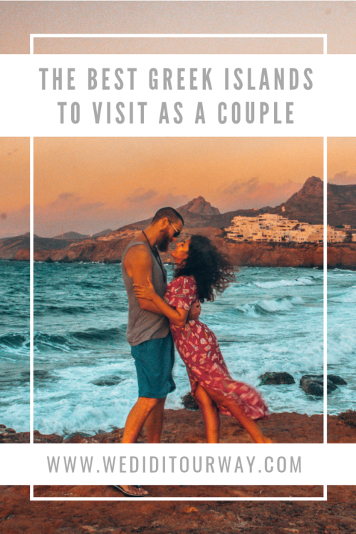 The best Greek Islands to visit as a couple. What to do, where to stay, where to eat and all our tips to visit 3 beautiful and romantic Greek islands, and Athens.   www.wediditourway.com