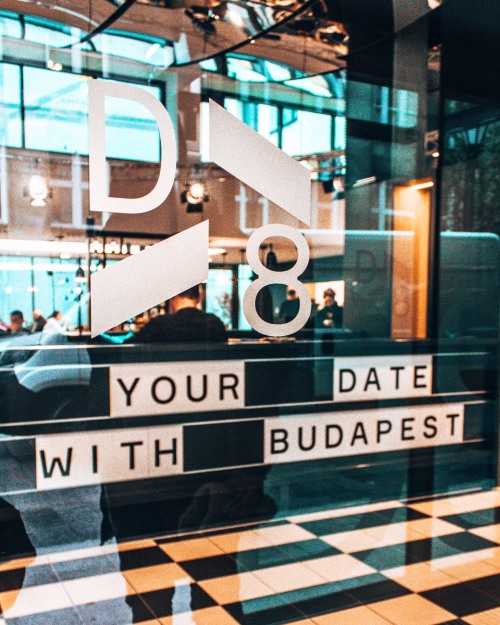 Welcome to the D8 Hotel in Budapest, Hungary