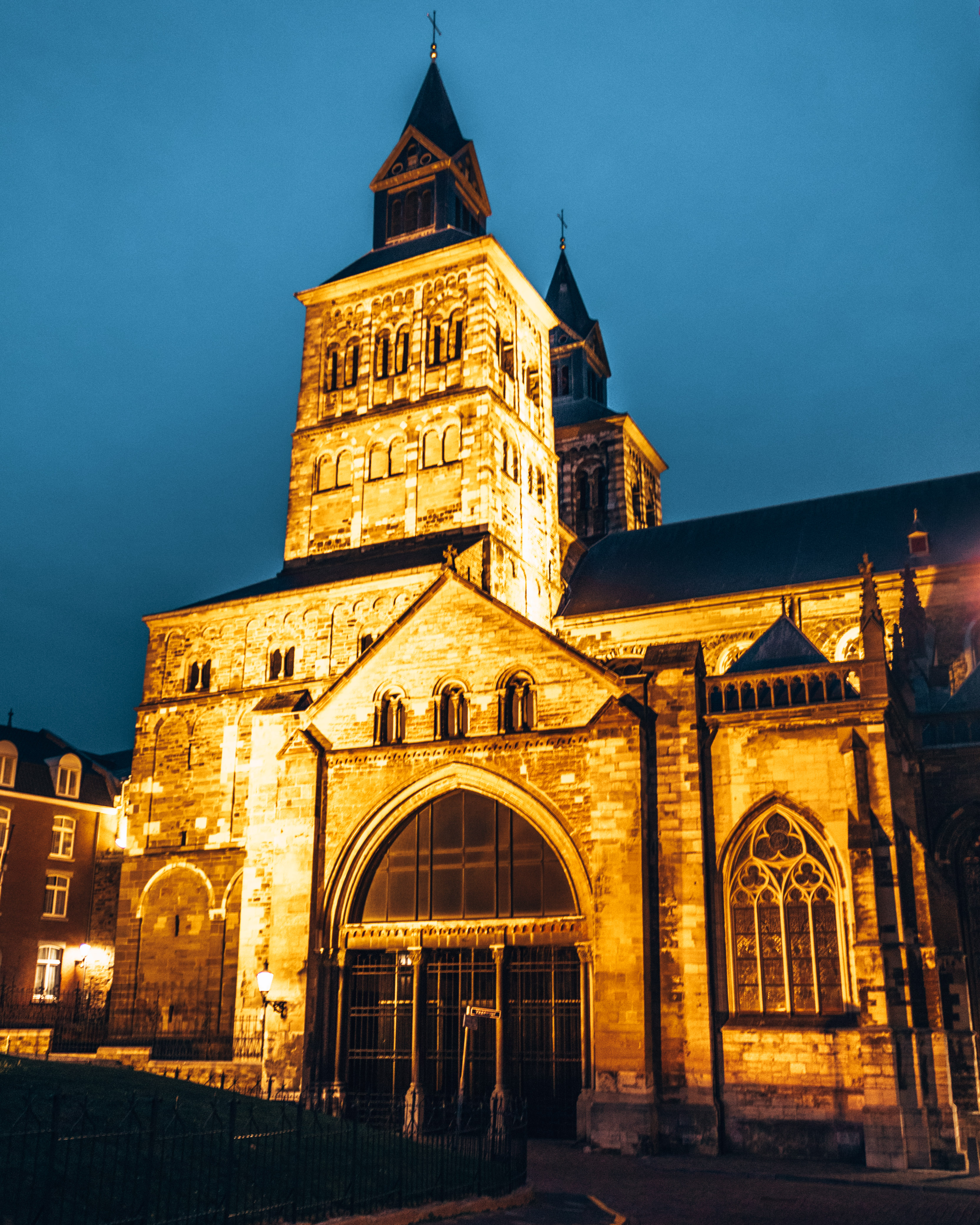 The Basilica of Saint Servatius in Maastricht, Netherlands