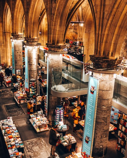 The Boekhandel Dominicanen bookstore in Maastricht, Netherlands