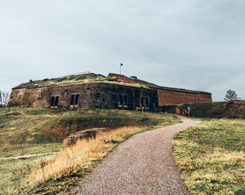 Fort St Pieter in Maastricht, Netherlands