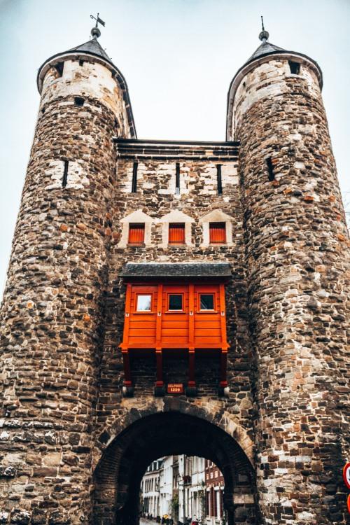 Hells gate, also known as Helpoort in Maastricht, Netherlands