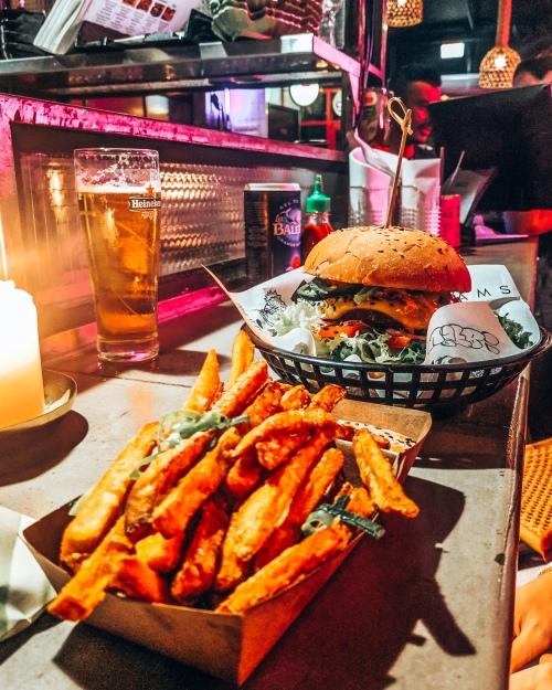 Original VJFB Burger at Vegan Junk Food Bar in Amsterdam