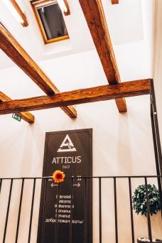 Atticus B&B attic Ljubljana Slovenia