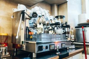 Atticus B&B breakfast coffee machine Ljubljana Slovenia