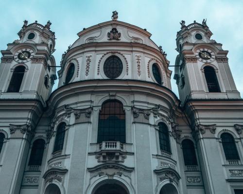 The Kollegienkirche in Salzburg, Austria