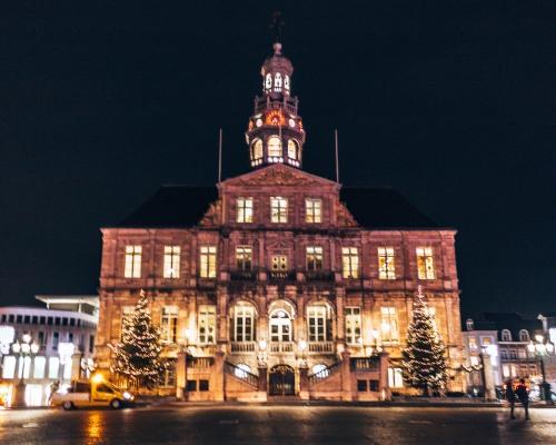 Maastricht Town Hall in Maastricht, Netherlands