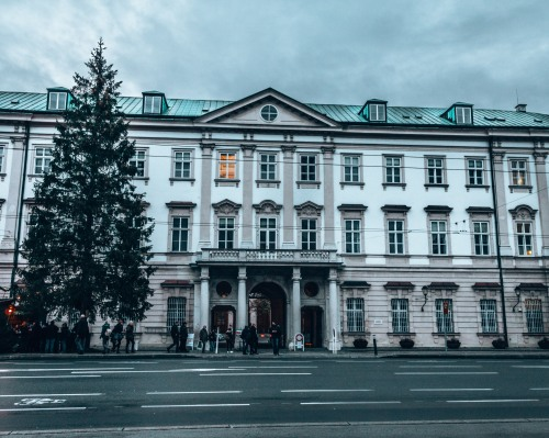 The Mirabell Palace in Salzburg, Austria