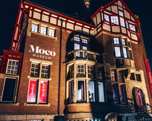 The Moco museum in Amsterdam, Netherlands